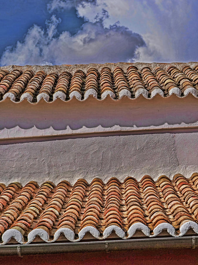 The  Spanish Terracotta Roof Photograph
