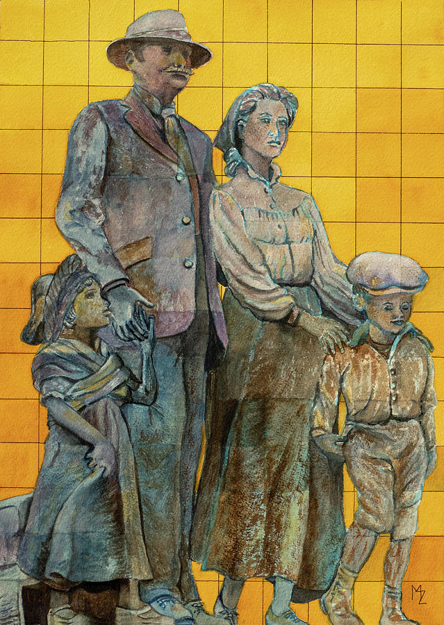 The Immigrants and the Wall by Margaret Zabor