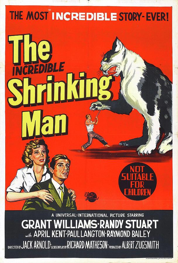 the Incredible Shrinking Man 1957 Mixed Media