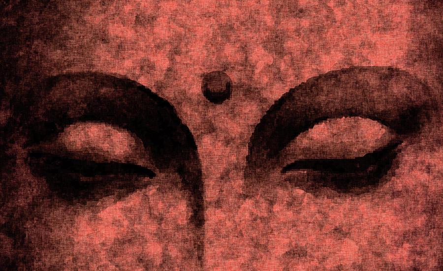 Buddha Mixed Media - The Inner Sky - Buddha in Meditation 03 by Studio Grafiikka