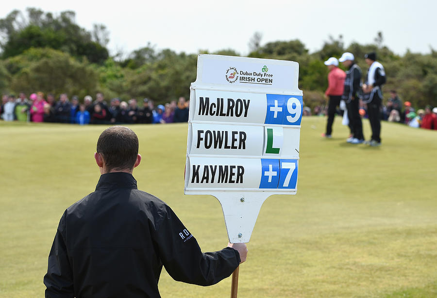 The Irish Open - Day One Photograph by Ross Kinnaird