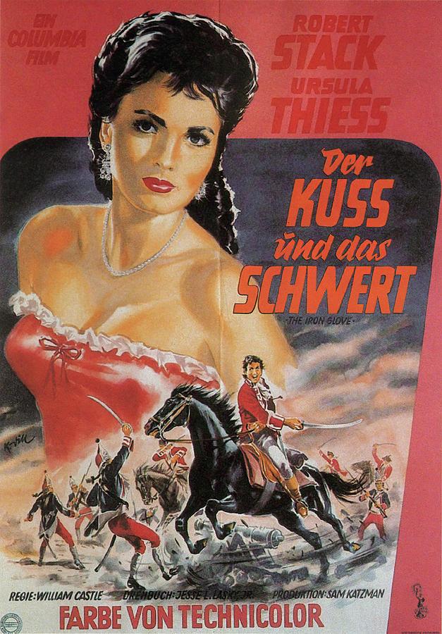 the Iron Glove, 1954-b Mixed Media