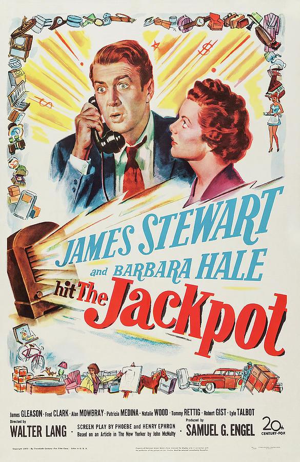 the Jackpot - 1950 Mixed Media