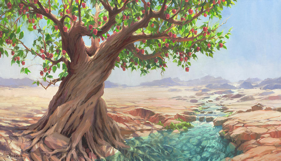 The Jeremiah Tree Painting