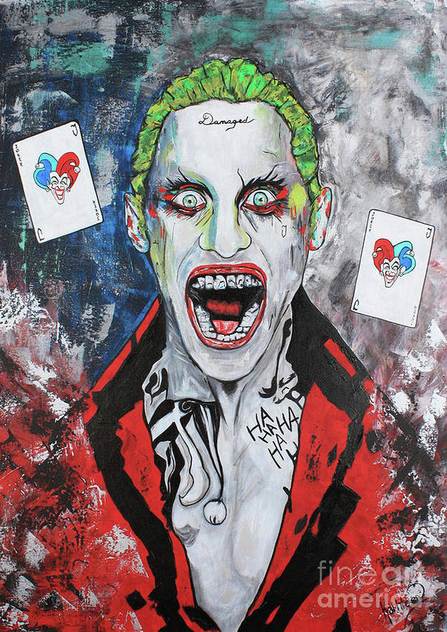 The Joker Gangsta Painting Painting