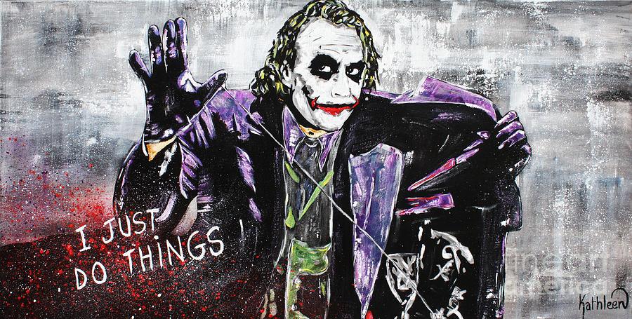 The Joker Painting Painting