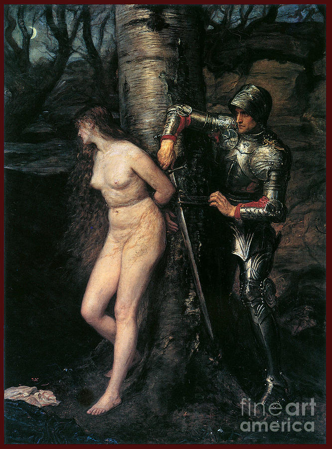 The Knight Errant 1870 Painting