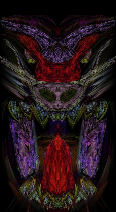 The Kosmic Baboon Digital Art