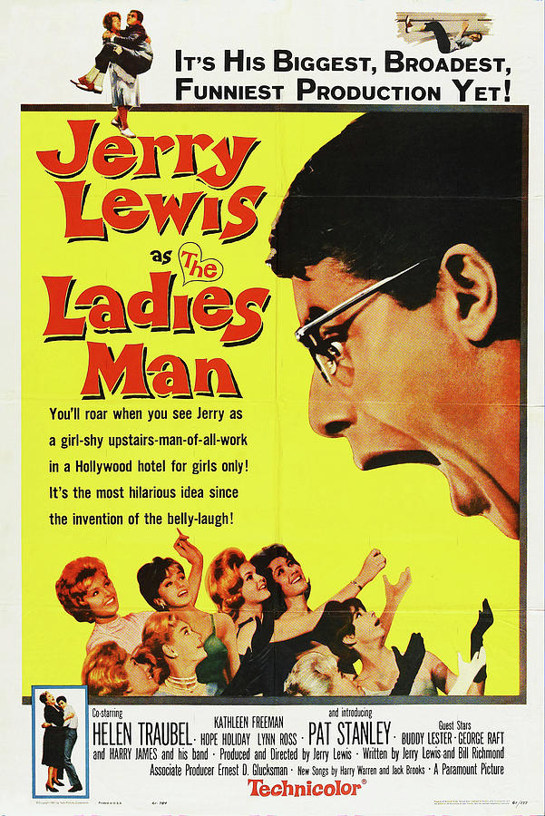 the Ladies Man, With Jerry Lewis, 1961 Mixed Media