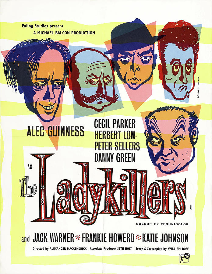 the Ladykillers, With Peter Sellers And Alec Guinness, 1955 Mixed Media