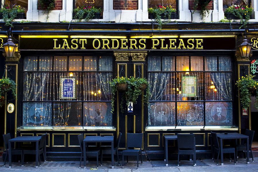The Last Orders Please Pub Photograph