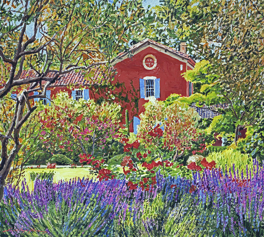 THE LAVENDER GARDEN by David Lloyd Glover