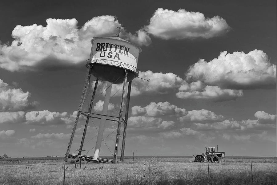 The Leaning Tower Of Britten, Groom, Texas Photograph