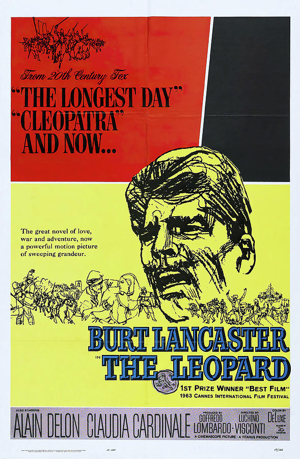 the Leopard, With Burt Lancaster, 1963 Mixed Media