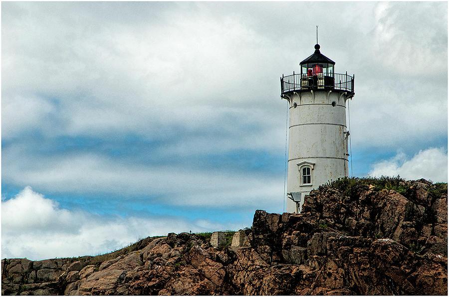 Lighthouse Photograph - The Lighthouse by Sandra Marie Photography