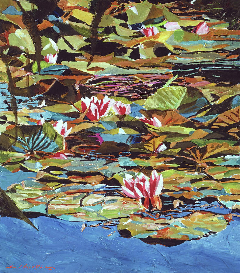 THE LILY POND by David Lloyd Glover