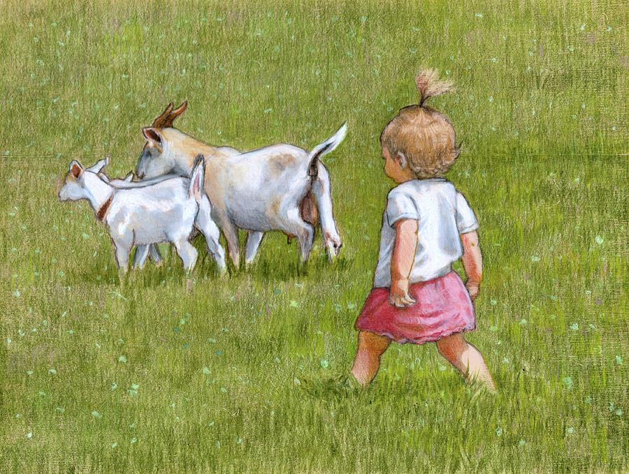 The Little Goatherd Drawing