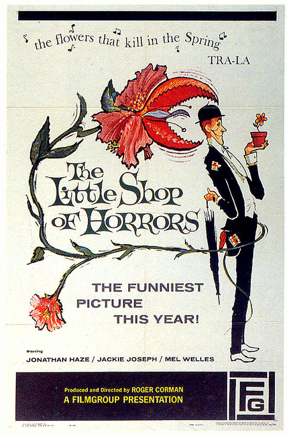 the Little Shop Of Horrors Poster Mixed Media