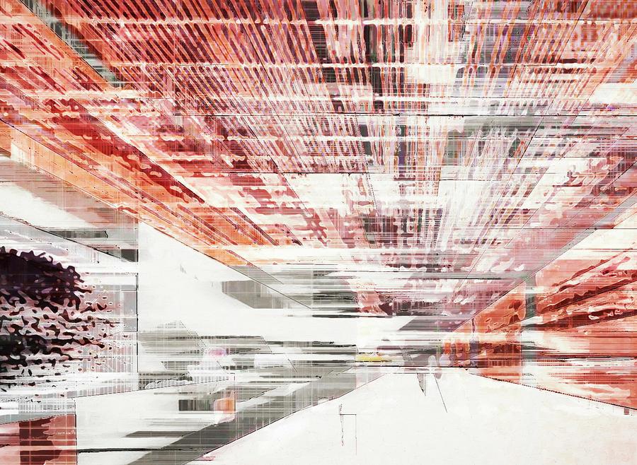 The Lobby 2 Digital Art by David Hansen