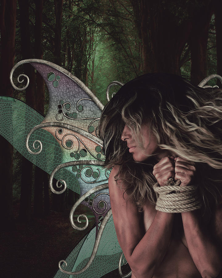 The Lost Fairy Digital Art