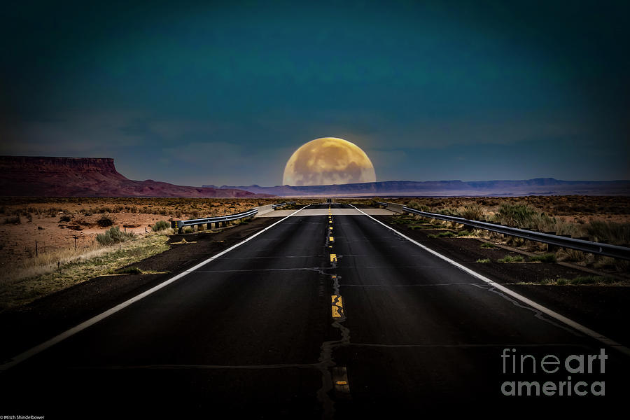 The Lost Highway Photograph