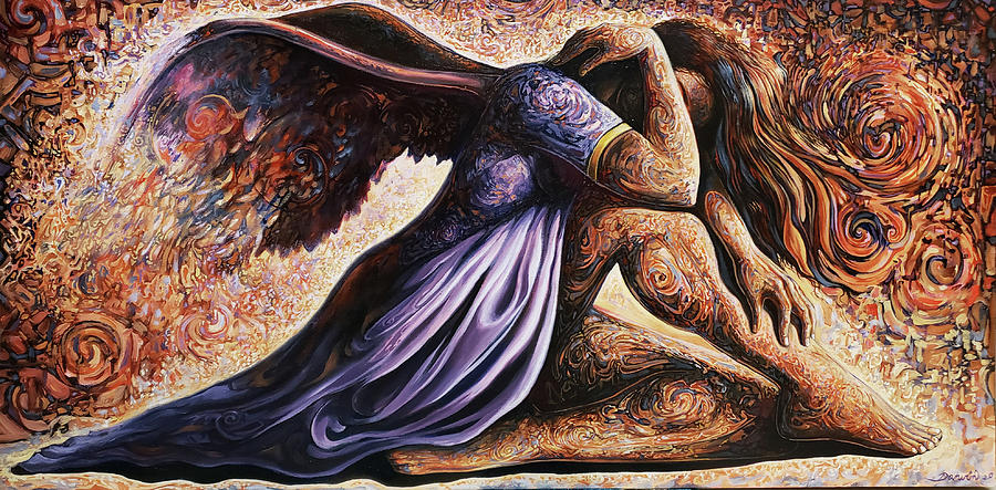 Surrealism Painting - The lost of Gnosticism by Darwin Leon