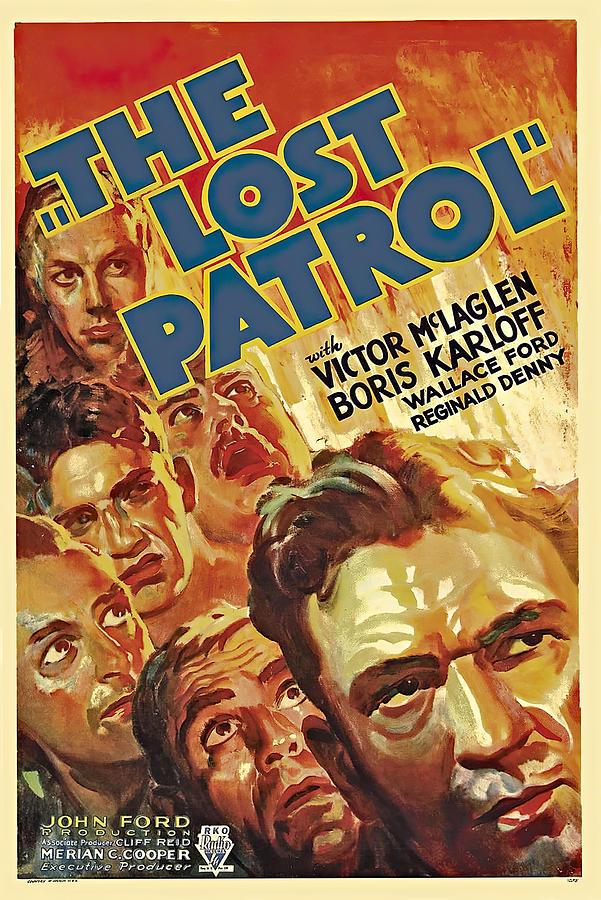 the Lost Patrol, 1934 - B Mixed Media