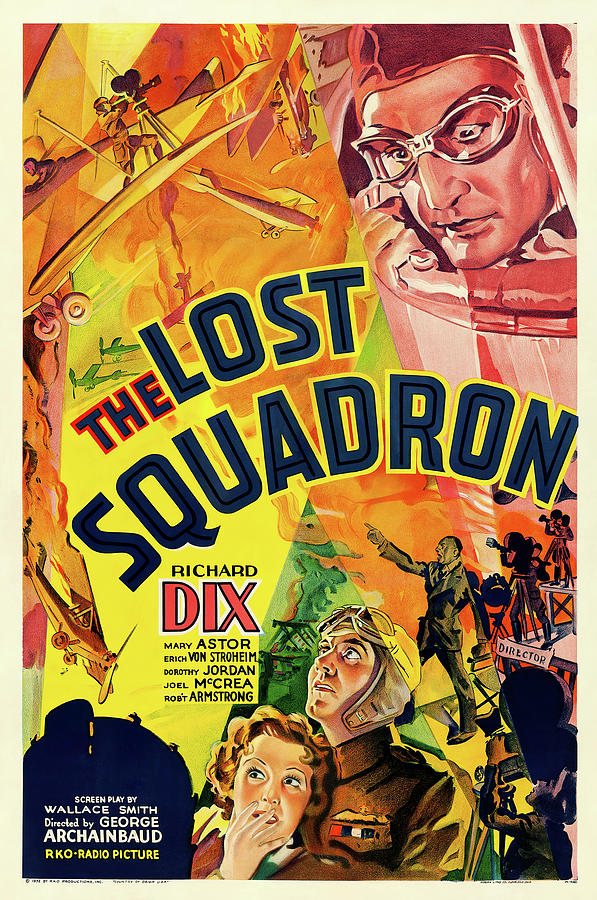 the Lost Squadron, 1932 Mixed Media