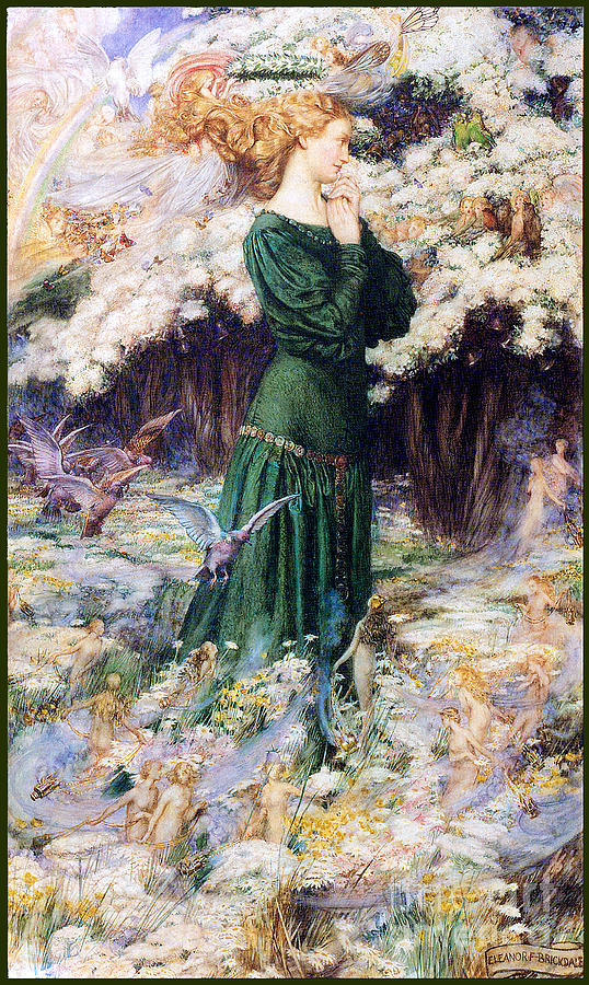 The Lovers World 1905 Painting