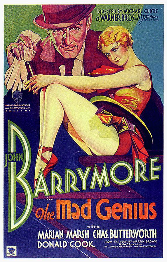 the Mad Genius Movie Poster 1931 Mixed Media