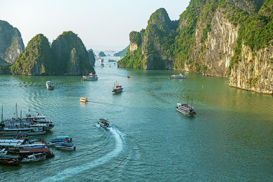 The Magnificent Halong Bay, Vietnam by Dubi Roman
