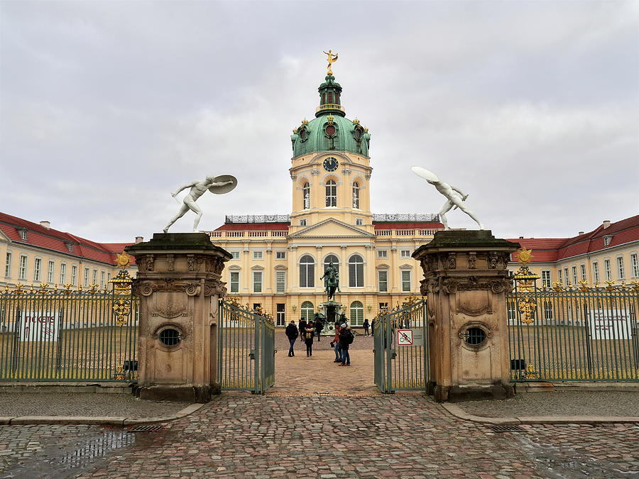 The main entrance. Schloss Charlottenburg.Berlin by Jouko Lehto
