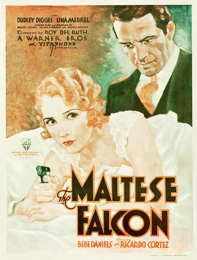 the Maltese Falcon, 1931 Mixed Media