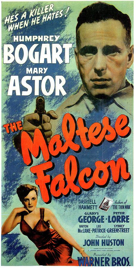 the Maltese Falcon Movie Poster 1941 Mixed Media