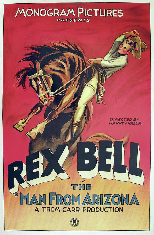 the Man From Arizona, 1932 Mixed Media
