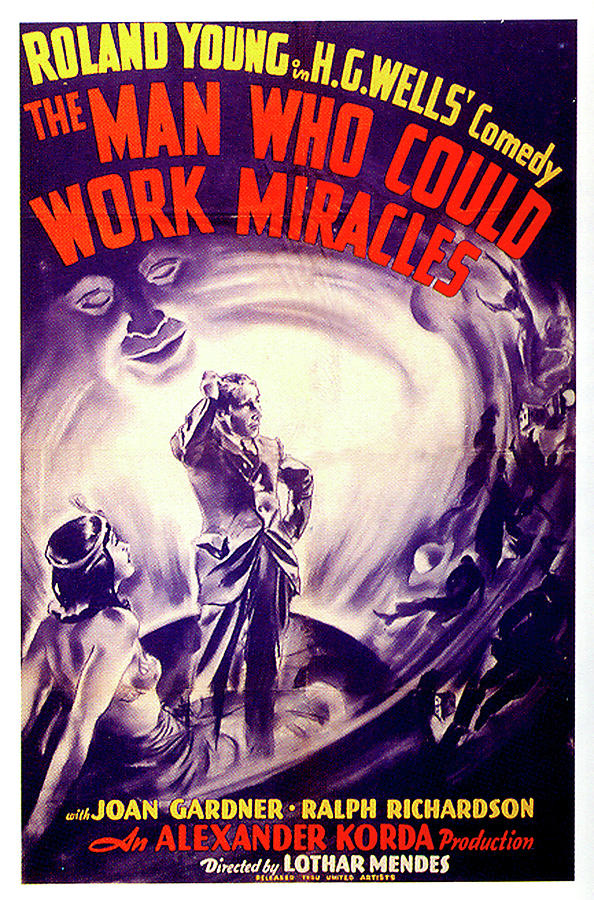 the Man Who Could Work Miracles Poster 1937 Mixed Media