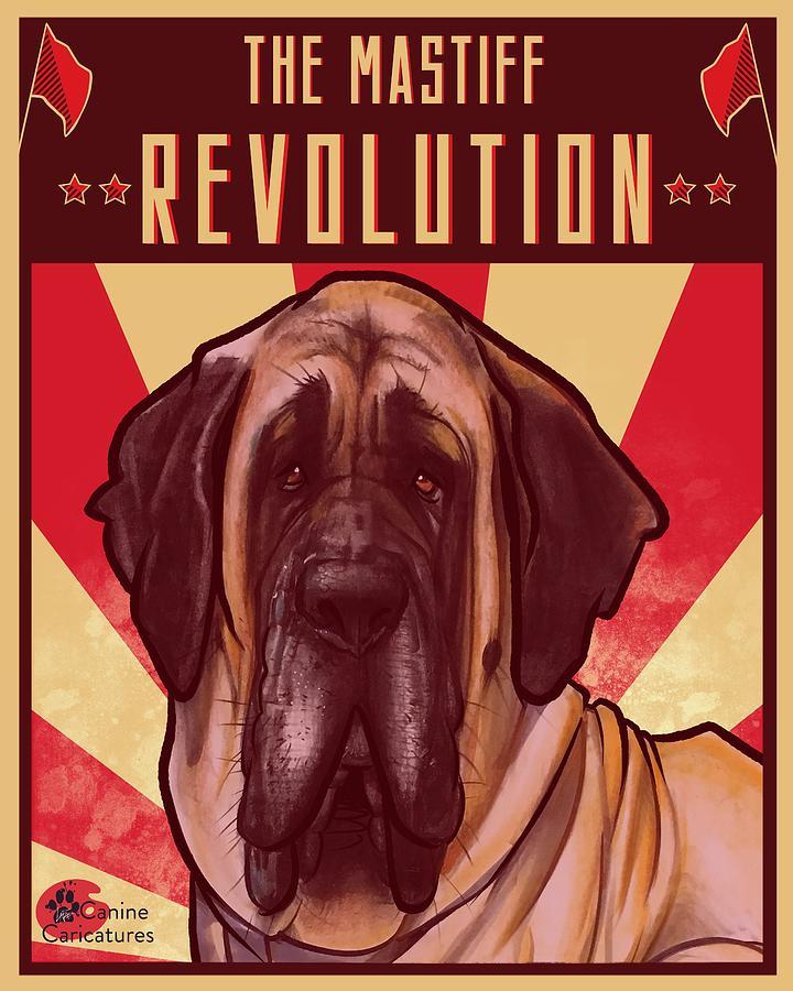 The Mastiff Revolution Drawing