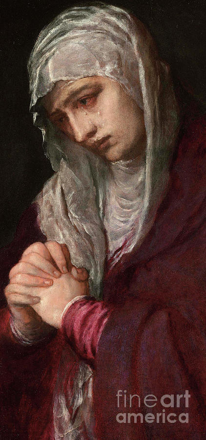 The Mater Dolorosa by Titian