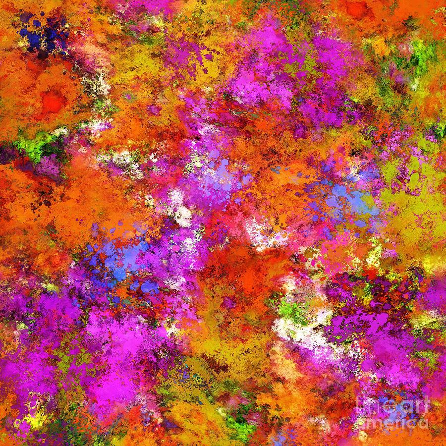 Splash Digital Art - The Maximum by Keith Mills
