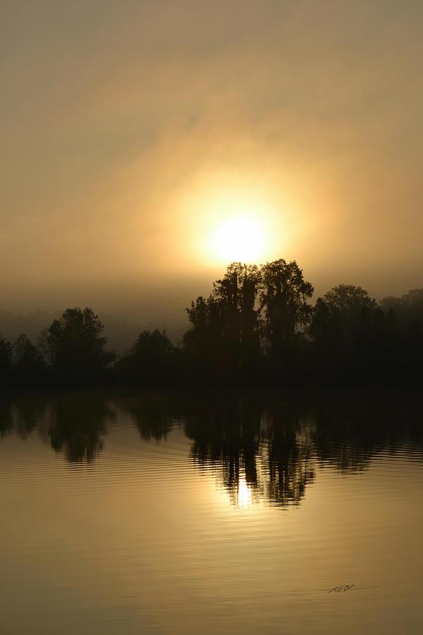 The Mellow Sunrise by RD Erickson