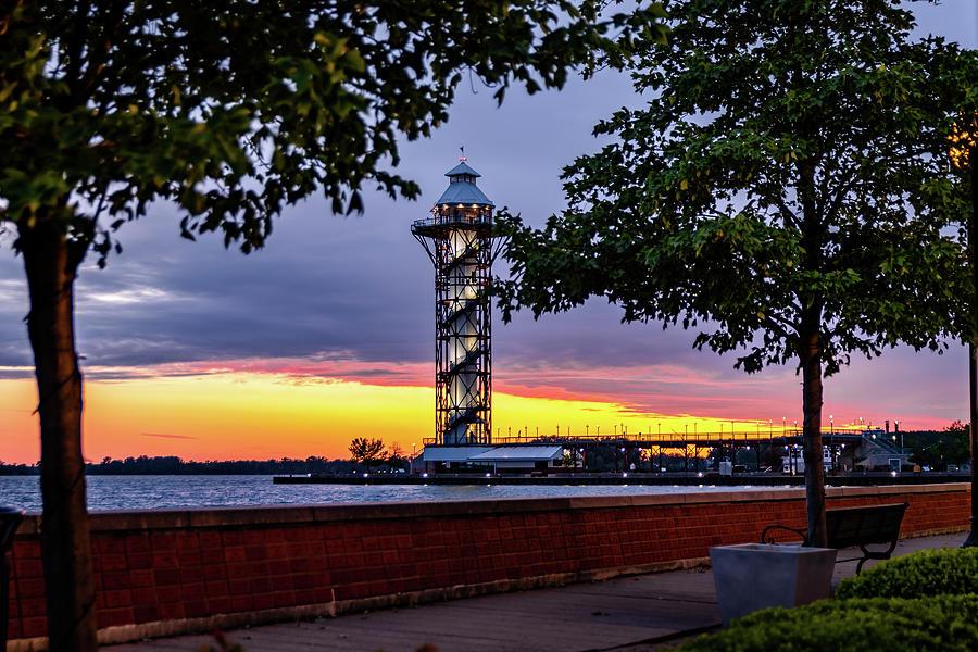 The Millennium Tower - Erie Pa Photograph
