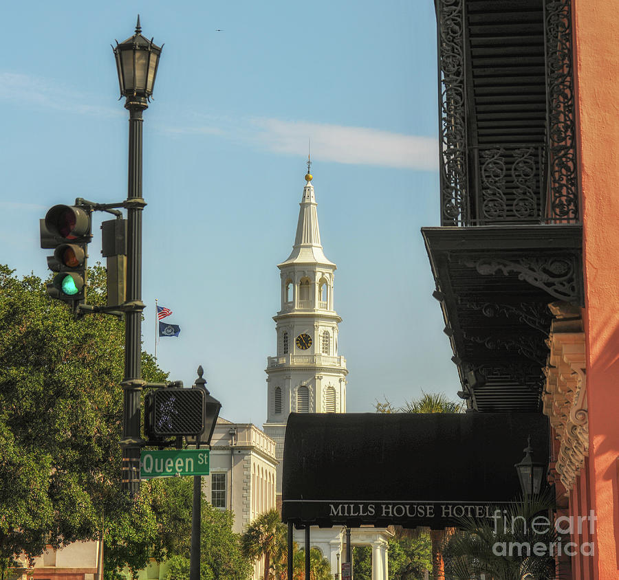 The Mills House - Queen Street - Charleston South Carolina Photograph