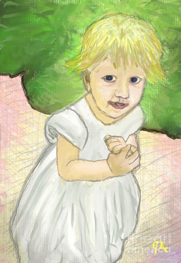 The Mischievous Toddler by Jeremy Aiyadurai