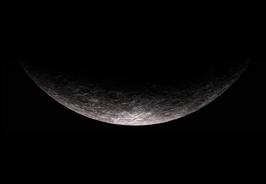 Moon Digital Art - The Moon by Hangar B Productions