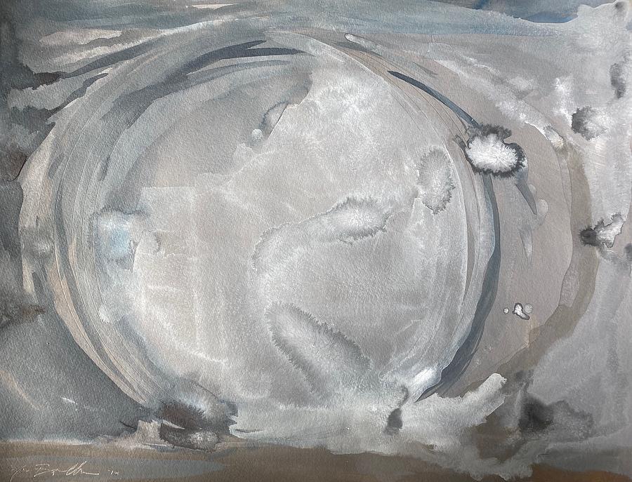 Astronomy Painting - The Moon by Noe Badillo