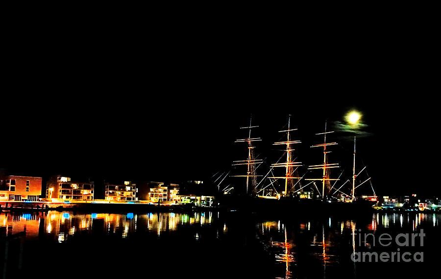 The Moons Sailing Ship Photograph