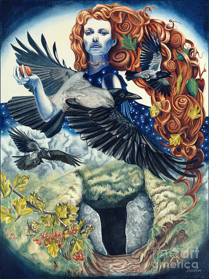 The Morrigan by Antony Galbraith
