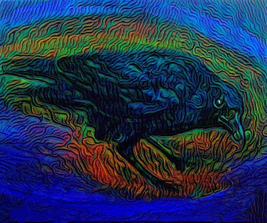 The Morrigan Digital Art