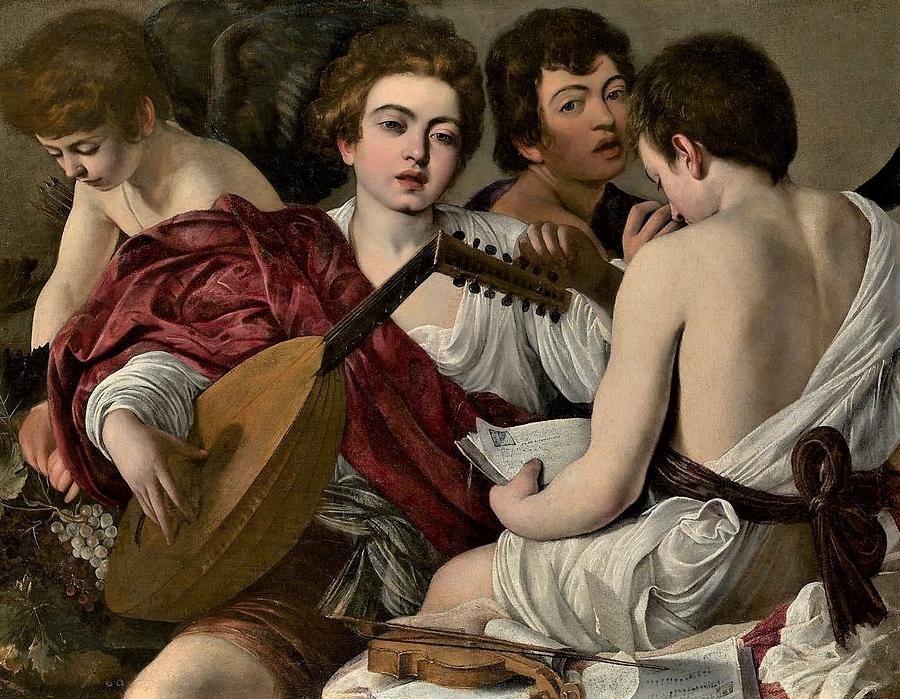 The Musicians Painting