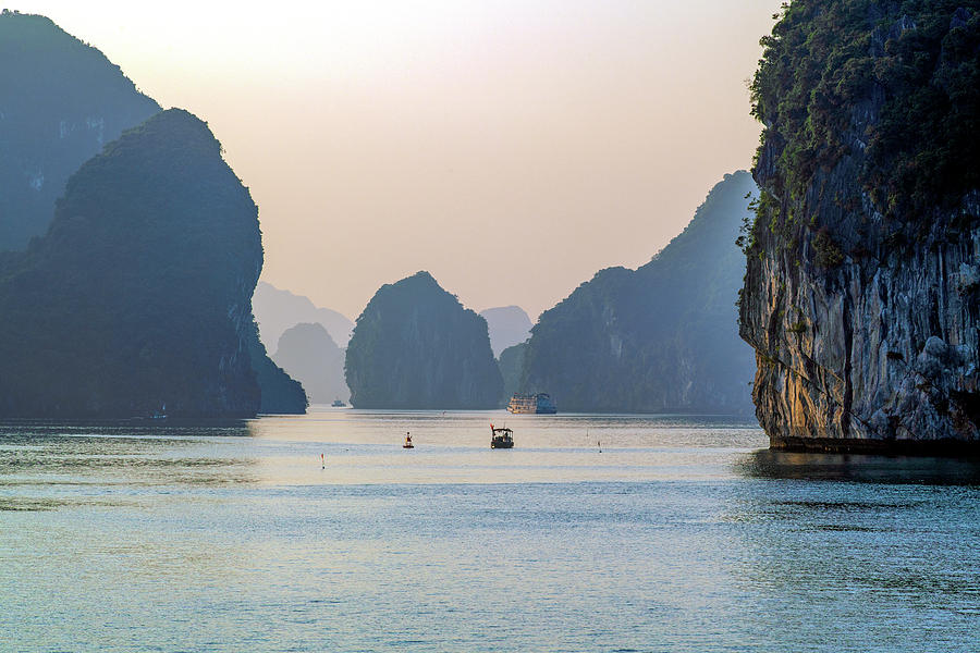 The mystery of Halong Bay, Vietnam by Dubi Roman